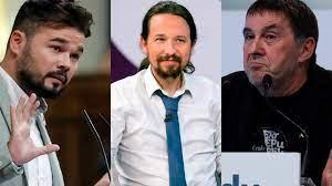 """Otegi revela en una charla con Rufián lo que le diría a """"nuestro amigo Pablo  Iglesias"""" - España - COPE"""