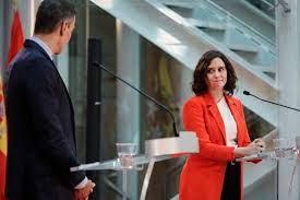 Distensión baldía entre Sánchez y Díaz Ayuso   Opinión